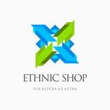 Современный красочный абстрактный элемент логотипа дизайна значка Самое лучшее для идентичности и логотипов Стоковое фото RF