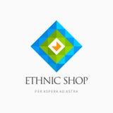 Современный красочный абстрактный элемент логотипа дизайна значка вектора Самое лучшее для идентичности и логотипов Стоковые Фото