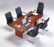 Современный круглый стол Стоковое Фото