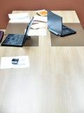 Современный круглый стол Стоковое Изображение RF