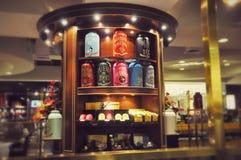Современный магазин чая в Makati Стоковая Фотография
