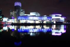 Современный Манчестер Стоковое Изображение