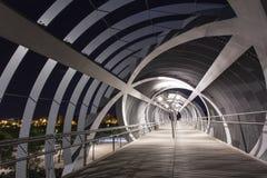 Современный мост в Мадриде Стоковая Фотография