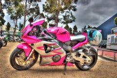 Современный мотоцикл Honda японца Стоковое Изображение