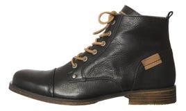 Современный мужской ботинок стоковое изображение rf