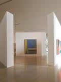 Современный музей искусств внутренних Стоковое фото RF