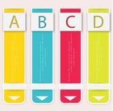 Современный мягкий шаблон дизайна цвета. Стоковое Фото
