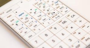 Современный научный калькулятор стоковая фотография rf