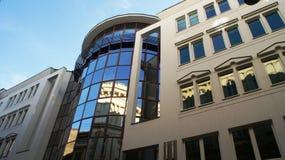 Современный дом в Будапеште стоковая фотография rf