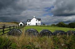 Современный дом в западной пробочке Ирландии Стоковое фото RF