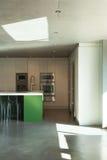 Современный дом, ikitchen Стоковые Изображения RF