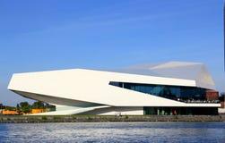 Современный оперный театр в Амстердаме Стоковая Фотография