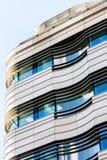 Современный офис здания конструкции архитектуры Стоковое Фото