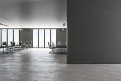 Современный офис с copyspace иллюстрация штока