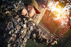 Современный охотник смычка Стоковые Фото