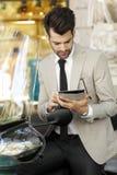 Современный портрет бизнесмена Стоковое Изображение RF