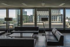 Современный пол здания стоковые фотографии rf