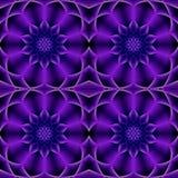 Современный пурпурный безшовный цветочный узор иллюстрация вектора