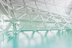 Современный пустой интерьер предсердия иллюстрация штока