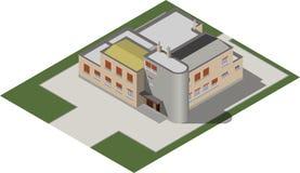 Современный равновеликий дом Стоковое Фото