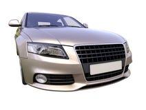 Современный роскошный изолированный автомобиль Стоковая Фотография