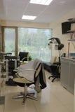 современный салон интерьера hairdressing стоковая фотография