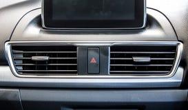 Современный сброс 2 кондиционера автомобиля стоковые изображения rf