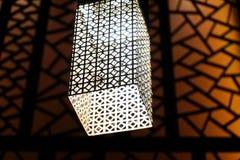 Современный свет металла Стоковая Фотография RF