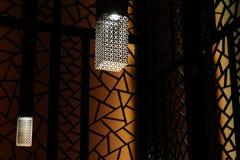 Современный свет металла Стоковое фото RF