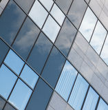 Современный стеклянный фасад Стоковые Фото