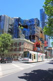 Современный строя Мельбурн стоковое изображение rf