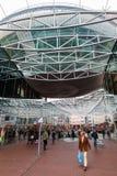 Современный торговый центр Spazio в Zoetermeer, Нидерланды Стоковые Фотографии RF
