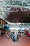 Современный торговый центр Spazio в Zoetermeer, Нидерланды Стоковое фото RF