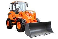Современный трактор колеса Стоковое Изображение RF