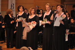 Современный турецкий клирос классической музыки Стоковая Фотография RF