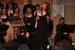 Современный турецкий клирос классической музыки Стоковые Фото