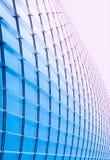 Современный фасад здания - стеклянный фасад здания небоскреба Стоковая Фотография