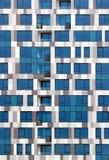 Современный фасад офисного здания highrise Стоковое фото RF