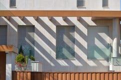 Современный фасад стоковое изображение