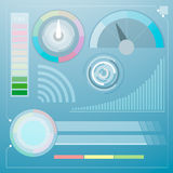 Современный цифровой дисплей Стоковая Фотография RF