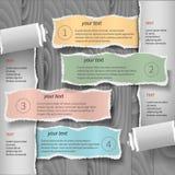 Современный шаблон infographics Стоковое Изображение RF