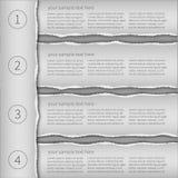 Современный шаблон infographics Стоковое фото RF