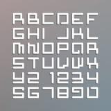 Современный шрифт astro Стоковая Фотография RF