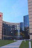 Современный экстерьер здания гостиницы Стоковое фото RF