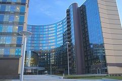 Современный экстерьер здания гостиницы Стоковые Изображения
