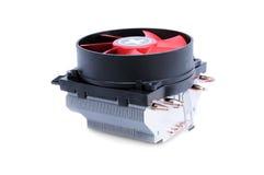 Современный электрический вентилятор изолированный на белой предпосылке Стоковые Фото