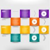 Современный элемент infographics Стоковое Изображение RF