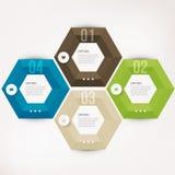 Современный элемент infographics Стоковое Фото