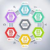 Современный элемент infographics Стоковые Фотографии RF