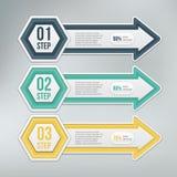 Современный элемент infographics Стоковая Фотография